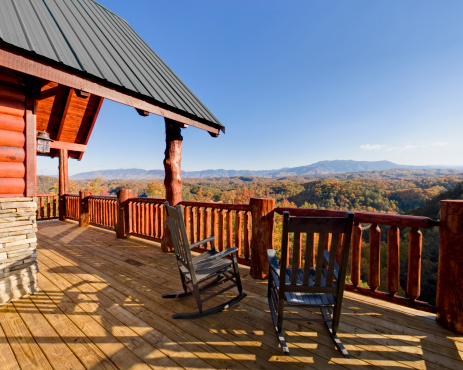 Great Smoky Mountains National Park「Rocking Chairs with a View (XXL)」:スマホ壁紙(13)