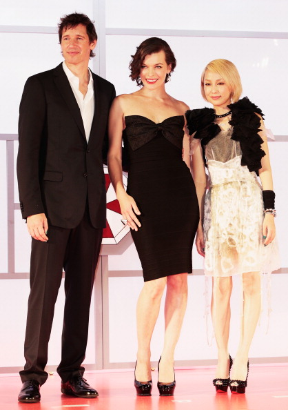 中島 美嘉「'Resident Evil: Retribution' World Premiere」:写真・画像(8)[壁紙.com]
