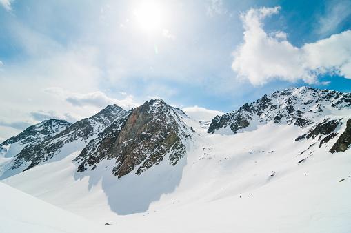 スキー「ハイ山」:スマホ壁紙(1)