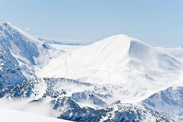 高い山の景観に晴れた日:スマホ壁紙(壁紙.com)