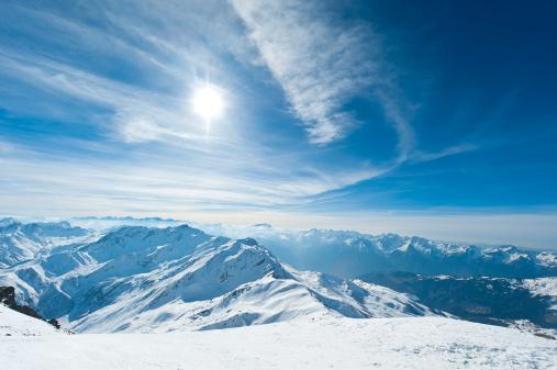 ラグラーブ「高い山の景観に晴れた日」:スマホ壁紙(0)