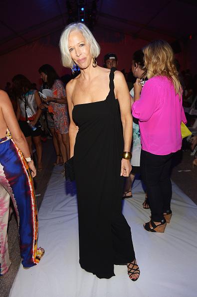 Linda Fargo「Mara Hoffman Swim At Mercedes-Benz Fashion Week Swim 2014- Front Row」:写真・画像(12)[壁紙.com]