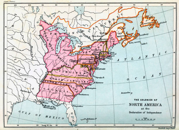 Colonies of North America in 1776:ニュース(壁紙.com)