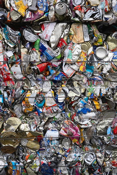 Full Frame「Compacted metal recycling」:写真・画像(15)[壁紙.com]