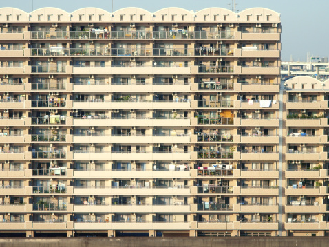 Japan「An apartment house 」:スマホ壁紙(12)