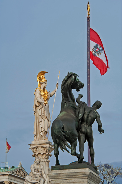 God「Horse Tamer And Austria Flag」:写真・画像(16)[壁紙.com]