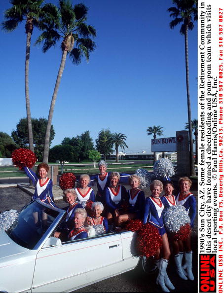 Arizona「1990's Sun City, AZ. Some female residents of the Retirement Community in this desert city have form」:写真・画像(1)[壁紙.com]
