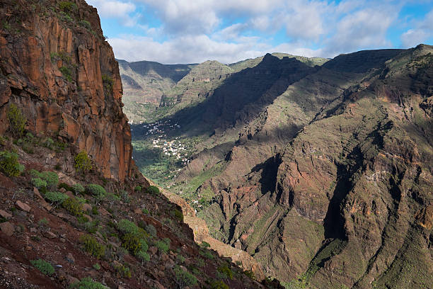 Spain, Canary Islands, La Gomera, Valle Gran Rey:スマホ壁紙(壁紙.com)