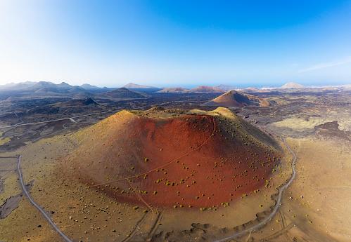 Volcano Islands「Spain, Canary Islands, Lanzarote, Volcano Montana Colorada」:スマホ壁紙(16)