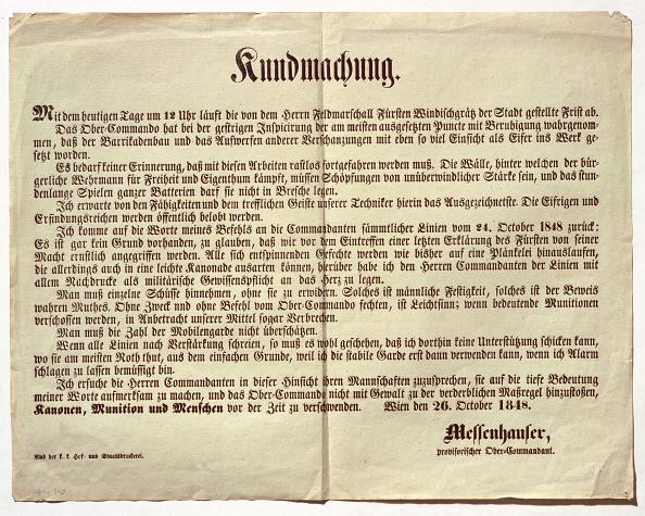 Transfer Print「Promulgation Of The Vienna High Commander Wenzel Messenhauser」:写真・画像(9)[壁紙.com]