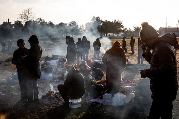 Land「Migrants Continue To Wait At The Turkish Greek Border」:写真・画像(13)[壁紙.com]