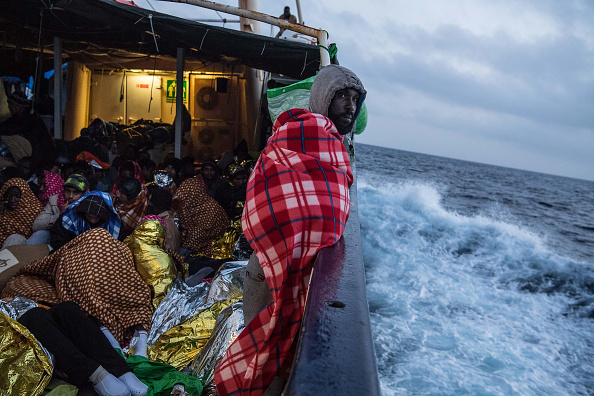 Refugee「Search And Rescue On The Mediterranean With Proactiva Open Arms」:写真・画像(8)[壁紙.com]