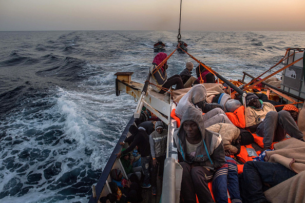 Refugee「Search And Rescue On The Mediterranean With Proactiva Open Arms」:写真・画像(16)[壁紙.com]