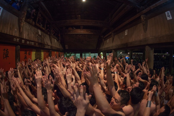 Japan「Saidaiji Temple Naked Festival Takes Place」:写真・画像(3)[壁紙.com]