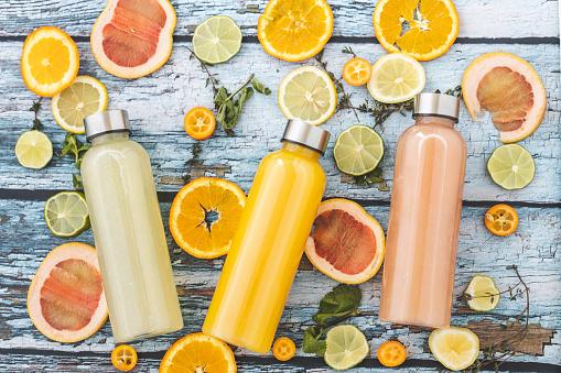 Lemon Soda「Lemonade and orange juice」:スマホ壁紙(11)