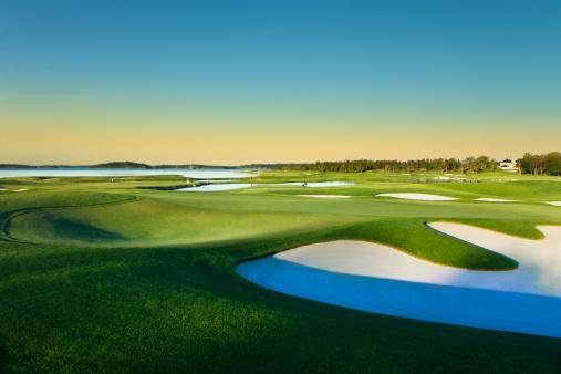 Sand Trap「European Golf course」:スマホ壁紙(3)