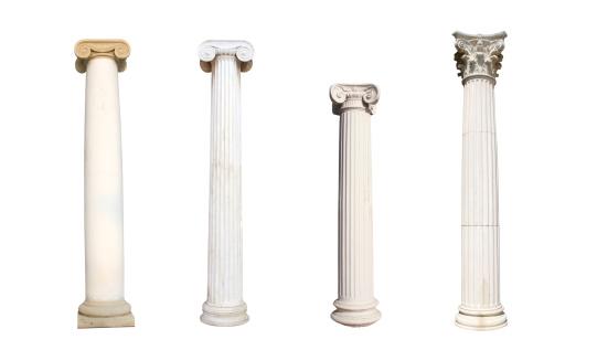 Colonnade「Four isolated columns」:スマホ壁紙(14)