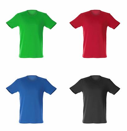 Art「four isolated t-shirts」:スマホ壁紙(3)