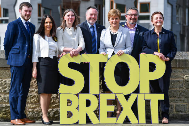 SNP Launch Their European Election Campaign:ニュース(壁紙.com)