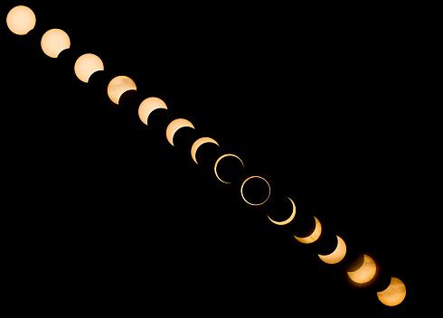 Annular Solar Eclipse「Annular Solar Eclipse, Redding, California」:スマホ壁紙(11)