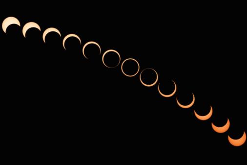 Multiple Exposure「Annular Solar Eclipse」:スマホ壁紙(18)
