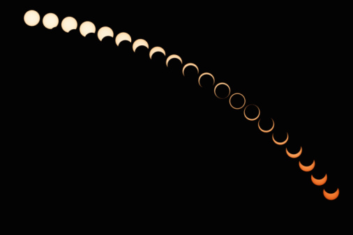 Multiple Exposure「Annular Solar Eclipse」:スマホ壁紙(2)