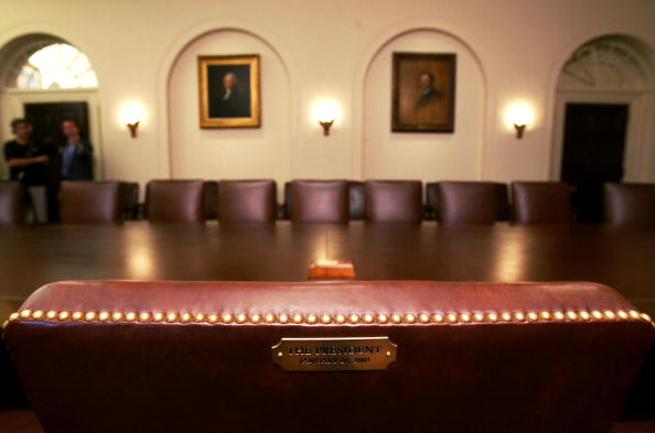Alex Wong「White House Cabinet Room Refurbished After 22 Years」:写真・画像(15)[壁紙.com]