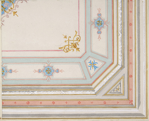 Ceiling「Partial Design For A Painted Ceiling」:写真・画像(16)[壁紙.com]