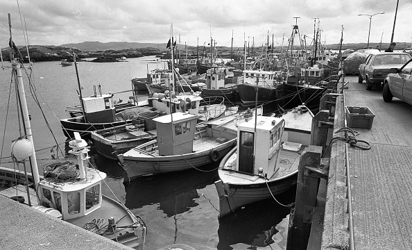 County Donegal「Killybegs Harbour 1988」:写真・画像(2)[壁紙.com]