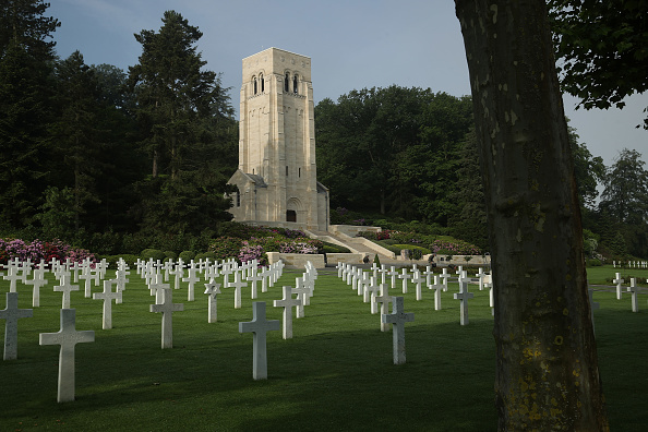 Cemetery「100th Anniversary Of The Battle Of Belleau Wood During World War I」:写真・画像(14)[壁紙.com]