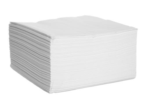 Napkin「White paper serviettes / napkins stacked」:スマホ壁紙(15)