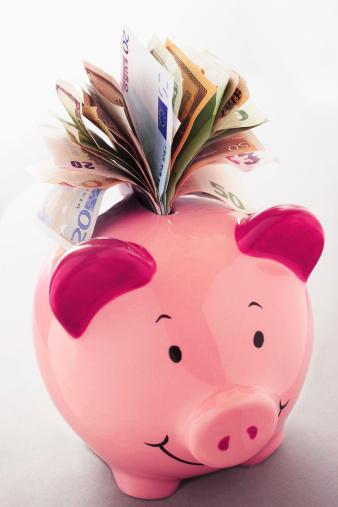 Economic fortune「Full Piggy Bank」:スマホ壁紙(2)