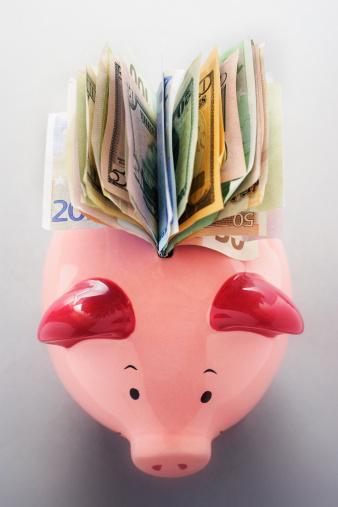 Economic fortune「Full Piggy Bank」:スマホ壁紙(3)
