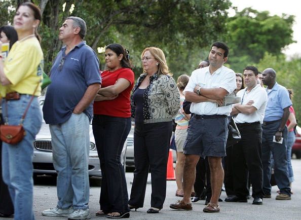 Waiting「Floridians Go To The Polls For Early Voting」:写真・画像(14)[壁紙.com]