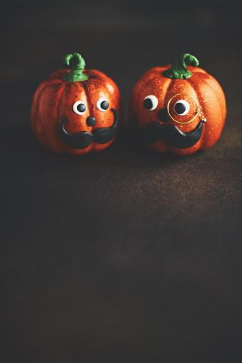 Eyesight「Pumpkin gentleman pair with mustaches」:スマホ壁紙(6)