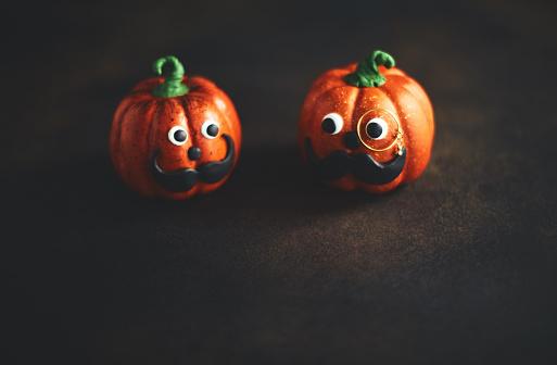 Eyesight「Pumpkin gentleman pair with mustaches」:スマホ壁紙(15)