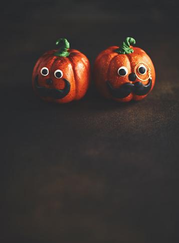 Eyesight「Pumpkin gentleman pair with mustaches」:スマホ壁紙(8)