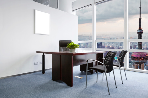 East Asia「office room with good cityscape」:スマホ壁紙(14)