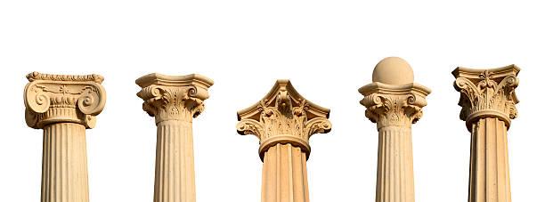Five different columns in a row XXL:スマホ壁紙(壁紙.com)