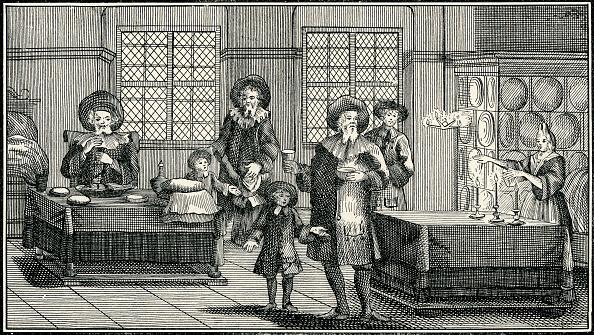 式典「'Sabbath Eve Ceremonies in a German Jewish Home of the Eighteenth Century」:写真・画像(9)[壁紙.com]