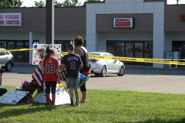 Tennessee「Four Marines Killed In Military Center Shootings In Chattanooga, Tennessee」:写真・画像(10)[壁紙.com]