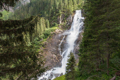 Hohe Tauern Range「Austria, High Tauern National Park, Krimml waterfalls」:スマホ壁紙(17)