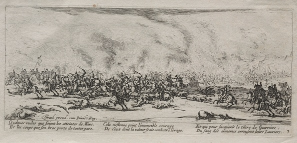 Etching「The Large Miseries Of War: The Battle」:写真・画像(9)[壁紙.com]
