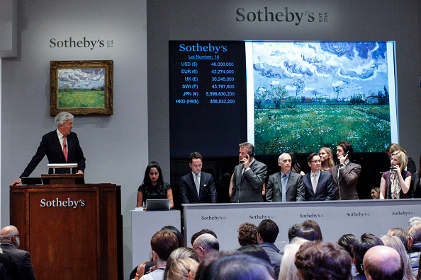 Sotheby's「Sotheby's Impressionist And Modern Art Auction Expected To Bring Record Sales」:写真・画像(18)[壁紙.com]