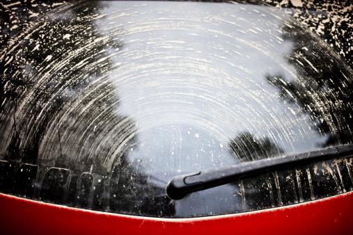 Windshield Wiper「dirty car window」:スマホ壁紙(13)