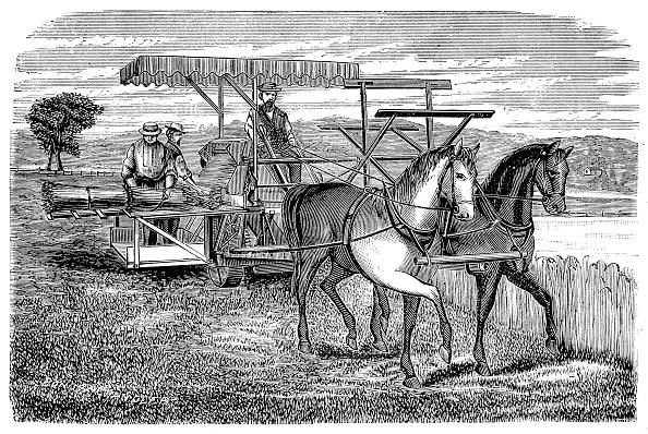 Model - Object「Cyrus McCormick's reaper and binder, 1877.」:写真・画像(19)[壁紙.com]