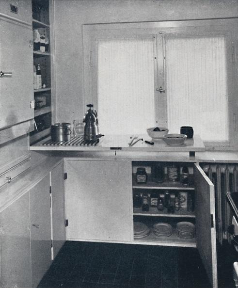 Household Fixture「Werner Harting - Kitchen With A Black Dutch Tiled Floor」:写真・画像(18)[壁紙.com]