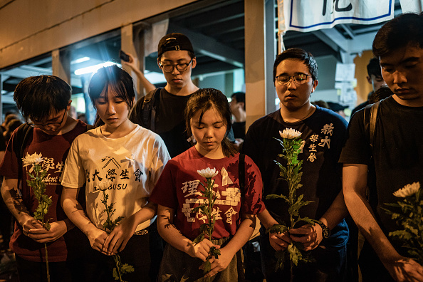 Mourner「Hong Kongers Protest Over China Extradition Law」:写真・画像(13)[壁紙.com]