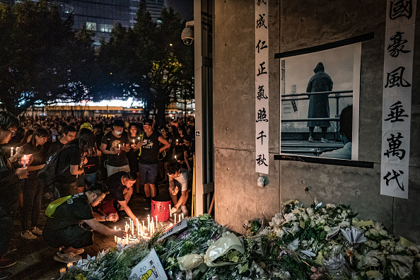 Mourner「Hong Kongers Protest Over China Extradition Law」:写真・画像(14)[壁紙.com]