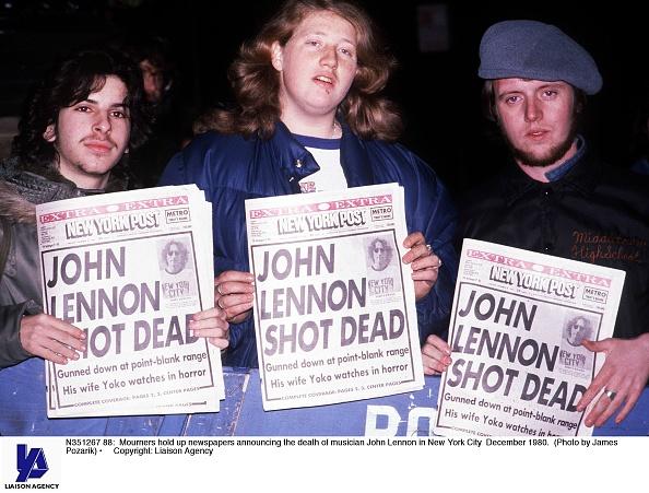 Death「death of musician John Lennon」:写真・画像(9)[壁紙.com]